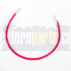 22511K 22 inch battery cable red for western plow