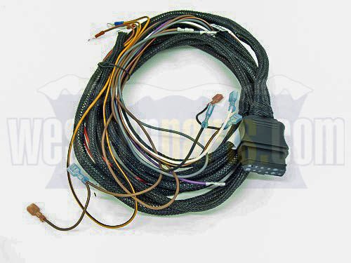 Part # 61437 - VEHICLE HARNESS KIT 9-PIN Western Pin Wiring Harness on